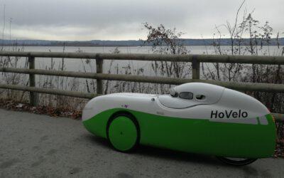 Mit dem Velomobil in Bayern zur Winterzeit unterwegs